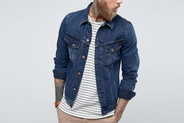 Nudie Jeans Co Billy Denim Jacket Deep Indigo Wash giá £ 145